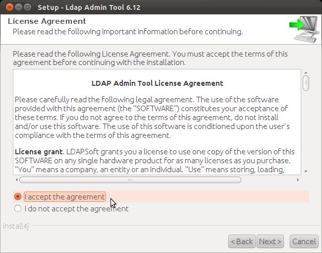 LDAPSoft Linux Installation Instructions